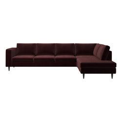 Indivi Sofa with lounging unit   Canapés   BoConcept