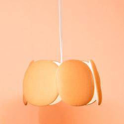 Blossom acoustic pendant lamp L | Suspended lights | Bogaerts Label