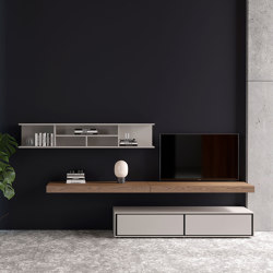 Mode | Wall units - Day Systems | Wall storage systems | ITALIANELEMENTS