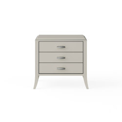 Relief | Night stand - White mat lacquer | Tables de chevet | ITALIANELEMENTS