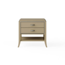 Relief | Night stand - Beige | Tables de chevet | ITALIANELEMENTS