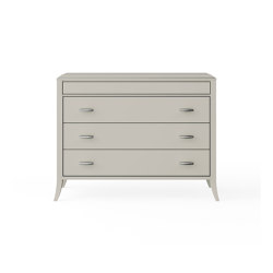 Relief | Chest of drawers - White mat lacquer | Sideboards | ITALIANELEMENTS