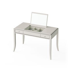 Relief | Dressing table - White mat lacquer | Tocadores | ITALIANELEMENTS
