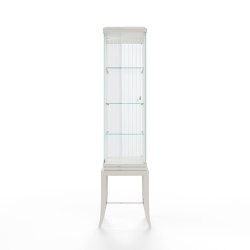 Relief | Showcase - White mat. lacquer | Display cabinets | ITALIANELEMENTS