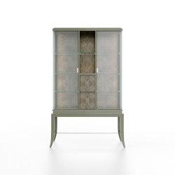 Relief | Showcase - Walnut Briar | Display cabinets | ITALIANELEMENTS