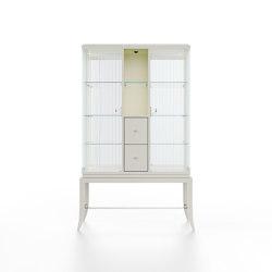 Relief | Showcase - White mat lacquer | Vitrinas | ITALIANELEMENTS