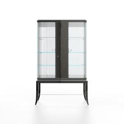 Relief | Showcase - Smoked Eucalyptus | Display cabinets | ITALIANELEMENTS
