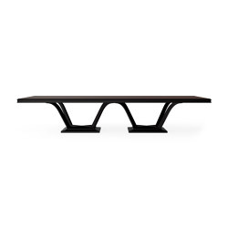 Relief | Dining table - Black Walnut | Dining tables | ITALIANELEMENTS