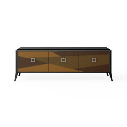 Relief | TV unit - Gamp Triplex | Multimedia sideboards | ITALIANELEMENTS