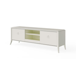 Relief | TV unit - White | Multimedia sideboards | ITALIANELEMENTS
