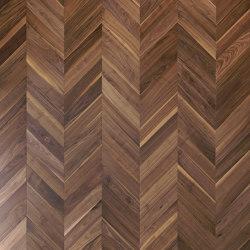 Chevron 45° floor | Ca' Foscolo | Planchers bois | Foglie d'Oro