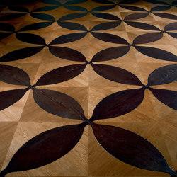 Design Panels | Diamante Ca' Rizzo and Vogue | Wood flooring | Foglie d'Oro