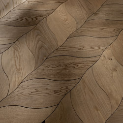 Design Panels | Petali | Wood flooring | Foglie d'Oro