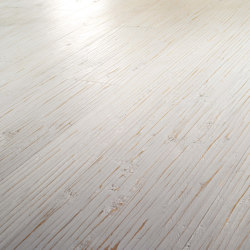 Engineered wood planks floor | Onda Bianco | Wood flooring | Foglie d'Oro