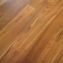 Engineered wood planks floor | Teak | Wood flooring | Foglie d'Oro