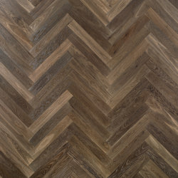 Herringbone 90° floor | Ca' Corner | Wood flooring | Foglie d'Oro