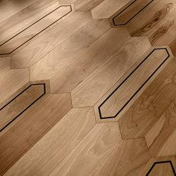 Special Panel Matita Installation | 111 | Wood flooring | Foglie d'Oro