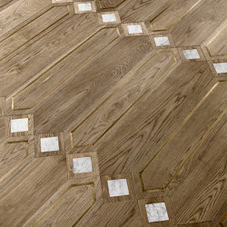 Special Panel Matita Installation | 122 | Wood flooring | Foglie d'Oro