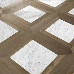 Special Panel Matita Installation | 133 | Wood flooring | Foglie d'Oro