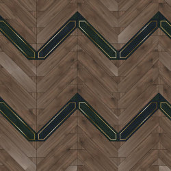 Special Panel Matita Installation | 241 | Wood flooring | Foglie d'Oro