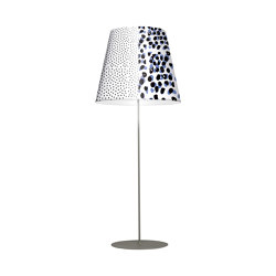 Melting Pot PT 80 new light patterns with silver inside | Free-standing lights | Axolight