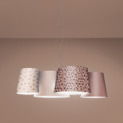 Melting Pot SP 115 new dark patterns with diffusers | Suspended lights | Axolight