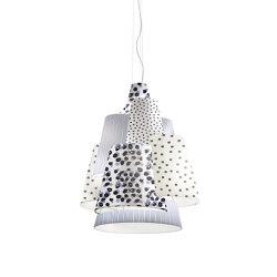 Melting Pot SP 120 new light dark patterns with white inside | Suspended lights | Axolight