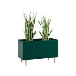Bac à plantes Volum Art | Pots de fleurs | Steelcase