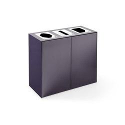 Volum Art Recycling Station | Waste seperation bins | Steelcase