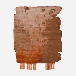 Frozen Cut | Nobu Burnt Orange | Rugs | Henzel Studio