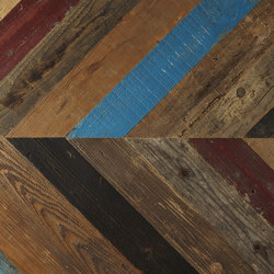 Oriental Reclaimed | Pine, Paint | Wood panels | Imondi