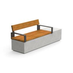 Log 210 Backrest Armrests | Bancos | Durbanis