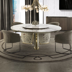 Lotus | Dining tables | Longhi S.p.a.