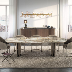 Lotus   Dining tables   Longhi S.p.a.