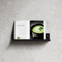 Shelf L40 Black | Shelving | Nichba Design