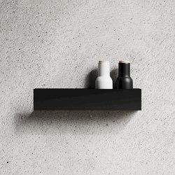 Shelf U40 Black | Estantería | Nichba Design