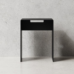 Stool Black | Stools | Nichba Design