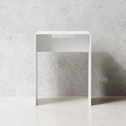 Stool White   Stools   Nichba Design