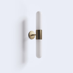 Azzero Wall Light - Double | Wall lights | Harris & Harris