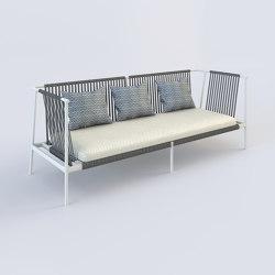 Prahran Sofa 3 Seater   Canapés   Harris & Harris
