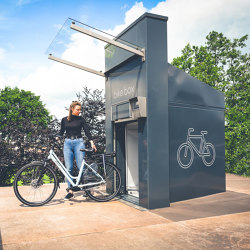 bike.tunnel 31 | Bicycle lockers | bike.box