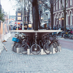 bike.circle 360 roof | Bicycle shelters | bike.box
