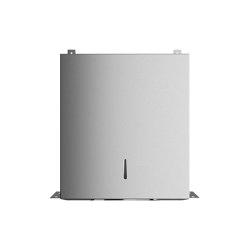 Behind mirror paper towel dispenser, for closed unit | Paper towel dispensers | Duten