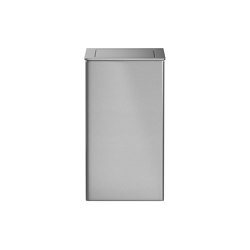 Wall mounted or free standing 50L bin, with self-closing flap | Bath waste bins | Duten