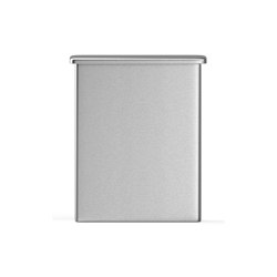 Wall mounted 5L bin for sanitary bags, with built-in dispenser | Bath waste bins | Duten
