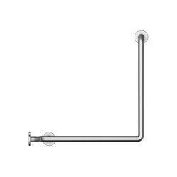 Stainless steel Ø32mm grab rail, 4 point fixation | Grab rails | Duten