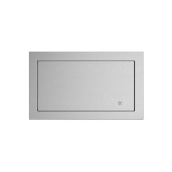 Rectangular self-closing stainless steel flap | Paper towel dispensers | Duten