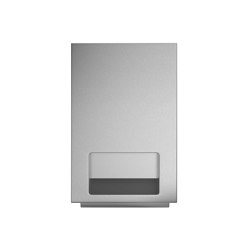 Recessed paper towel dispenser | Paper towel dispensers | Duten