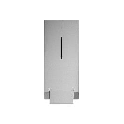 Stainless steel wall mounted foam soap dispenser, 1000ml capacity | Soap dispensers | Duten