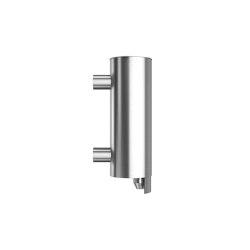 Stainless steel wall mounted liquid soap dispenser, 250ml capacity | Soap dispensers | Duten